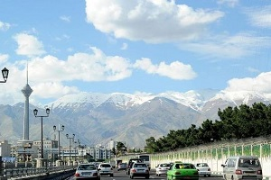 یش بینی وضعیت هوای تهران برای فردا دوشنبه 96/11/30