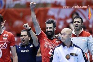 جدول مسابقات والیبال پس از پیروزی ایران مقابل فرانسه