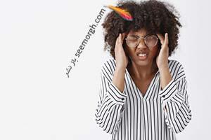 درمان سر درد با ماساژ نقاط فشاری در سر