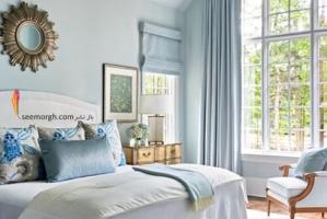 دکوراسیون اتاق خواب تان را با 5 رنگ آرامش بخش بچینید!