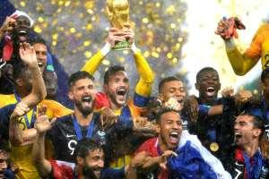 قهرمانی فرانسه در جام جهانی 2018 روسیه