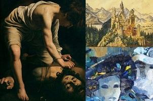 از ادولف هیتلر تا کاراواجو: هنرمندانی که خطرناک بودند + عکس آثار هنری