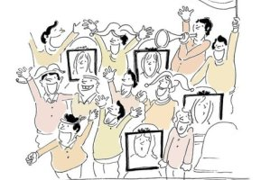 کارتون روز: حل مشکل ورود زنان به ورزشگاه برای تماشای فوتبال