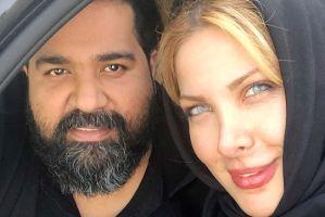 پست عاشقانه رضا صادقی برای تولد 36 سالگی همسر مهندسش! + عکس کیک وی