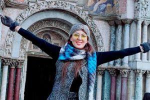 ازدواج خواهر لیلا بلوکات در ایتالیا! عکس
