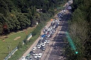 وضعیت جادهها در آستانه نیمهشعبان