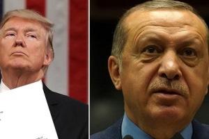 اردوغان به نامه ترامپ واکنش نشان داد