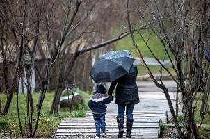 پیش بینی بارش برف و باران تا روز سه شنبه
