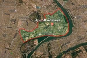 اصابت یک راکت به سفارت آمریکا در بغداد