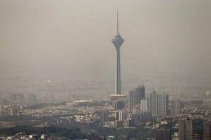 آلودگی هوای تهران باز هم بالا زد