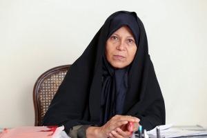 فائزه هاشمی: می خواهم رئیس جمهور ایران شوم