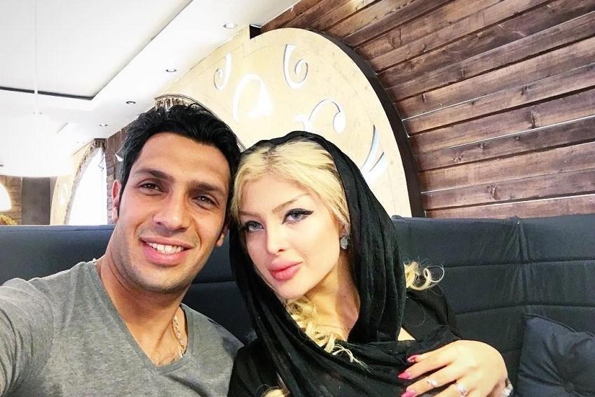 جشن تولد لاکچری پسر سپهر حیدری و همسرش! عکس