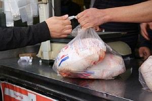 کاهش 70درصدیِ تقاضای مردم برای خرید مرغ