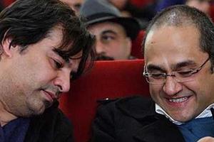 رامبد جوان و پیمان قاسم خانی در استخر در کمدی چپ، راست + عکس