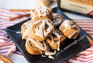 رول دارچین و زنجبیل، یک شیرینی پاییزی خوش طعم و ساده!