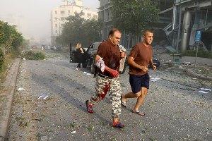 باروت و آتش و خون؛ تصاویری وحشتناک از انفجار بیروت