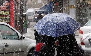 بارش برف و باران دو روزه در 17 استان کشور