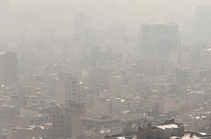 افزایش آلودگی هوای کلانشهرها تا چهارشنبه