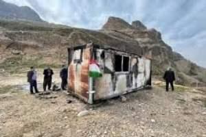 فوت دومین مصدوم آتش سوزی کانکس مدرسه
