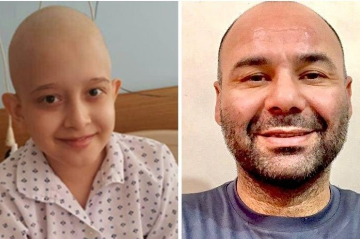 بازیکن استقلال بخاطر روحیه دادن به کودک سرطانی موهایش را تراشید!