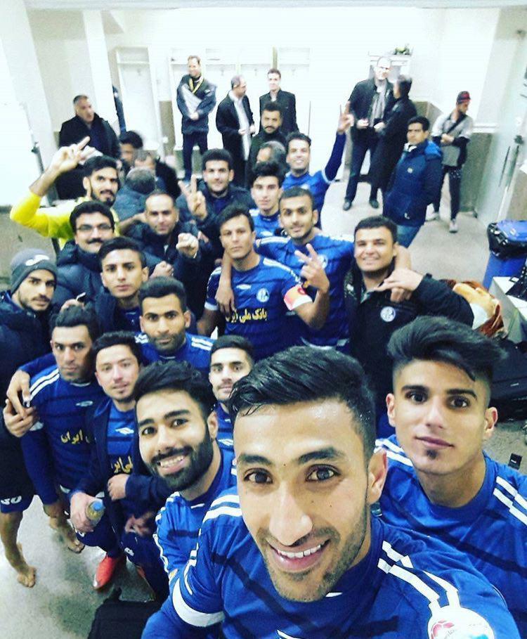 سلفی خوشحالی خوزستانیها پس از پیروزی