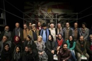 جشن تولدی که رضاکیانیان برای بازیگران متولد بهمن گرفت! + عکس