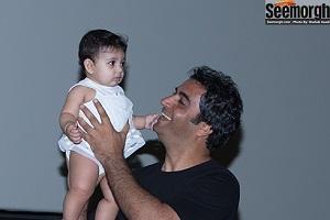 عکس هایی شیرین از محبت کردن یکتا ناصر و منوچهر هادی به دخترشان