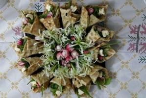 سبزی خوردن سفره افطار را اینگونه تزیین کنید!!