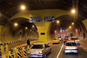 محدودیت و تغییر در نحوه تردد خودروها به تونل نیایش
