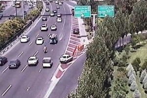 تجهیز بزرگراه های تهران به سامانه ثبت تخلف جناغیها+عکس