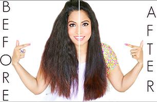 صاف کردن مو با روشهای خانگی