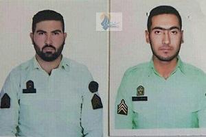 تصاویر پرسنل نیروی انتظامی که در درگیری دیشب خیابان پاسداران به شهادت رسیدند