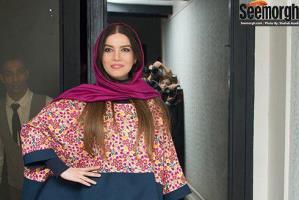 مدل مانتو زمستانی بلند به سبک بازیگران ایرانی