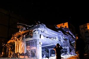 سرپل ذهاب، دو شب پس از زلزله+ عکس