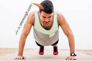 برای فرم دهی سینه و بازو چه تعداد پوش آپ push-ups لازم است
