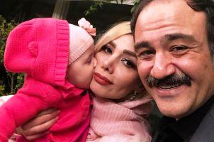 جشن تولد 1 سالگی دختر مهران غفوریان! عکس