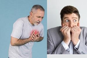 تفاوت حمله قلبی و حمله هراس در چیست؟