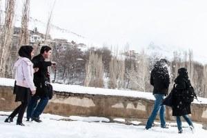توضیح درباره ممنوعیت برف بازی در پارک آب و آتش