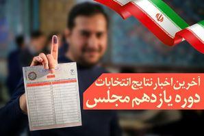 آخرین نتایج غیر رسمی انتخابات مجلس