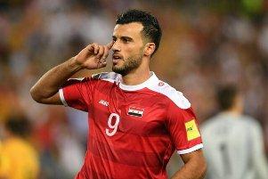 شادی گل توهین آمیز بازیکن سوریه ای الاهلی مقابل پرسپولیس