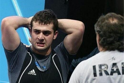 خداحافظی جوان اول ایران در المپیک 2012 از وزنه برداری