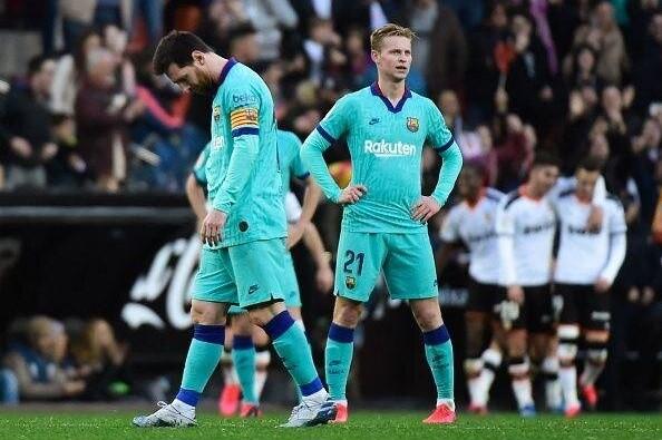 ادامه روزهای تلخ بارسلونا و مسی با سرمربی جدید