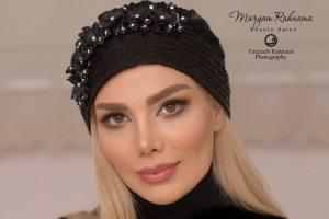 عکس های جدید آرزو غفوریان همسر مهران غفوریان به عنوان مدل