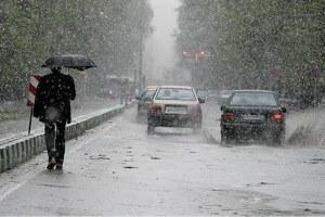 پیش بینی بارش برف و باران در تهران