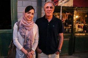 عکسی زیرخاکی از حمید علیدوستی و دخترش ترانه 36 سال پیش
