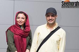 عکس های کمند امیرسلیمانی, جواد عزتی و همسرش در اکران زادبوم