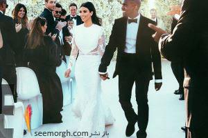 8 لباس عروس برتر ستارگان هالیوودی در دنیای مد