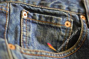 کاربرد جیب کوچک شلوار جین چیست؟