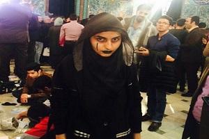 عکس:صف عجیب رای دهندگان در حسینیه ارشاد