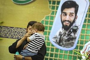 مراسم ختم شهید محسن حججی در نجف آباد+ عکس